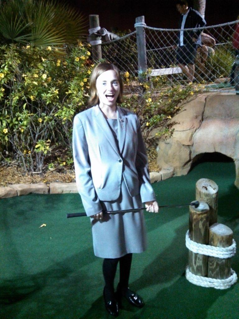 Liz - Mini Golf